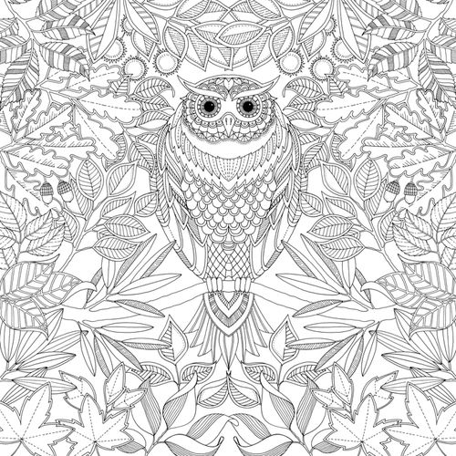 By Scottish Artist Johanna Basford In Her Secret Garden Coloring Book