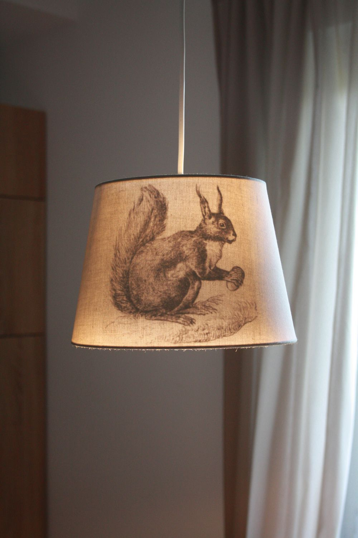 DIY IKEA HACK Transfertechnik Lampenschirm JÄRA vintage