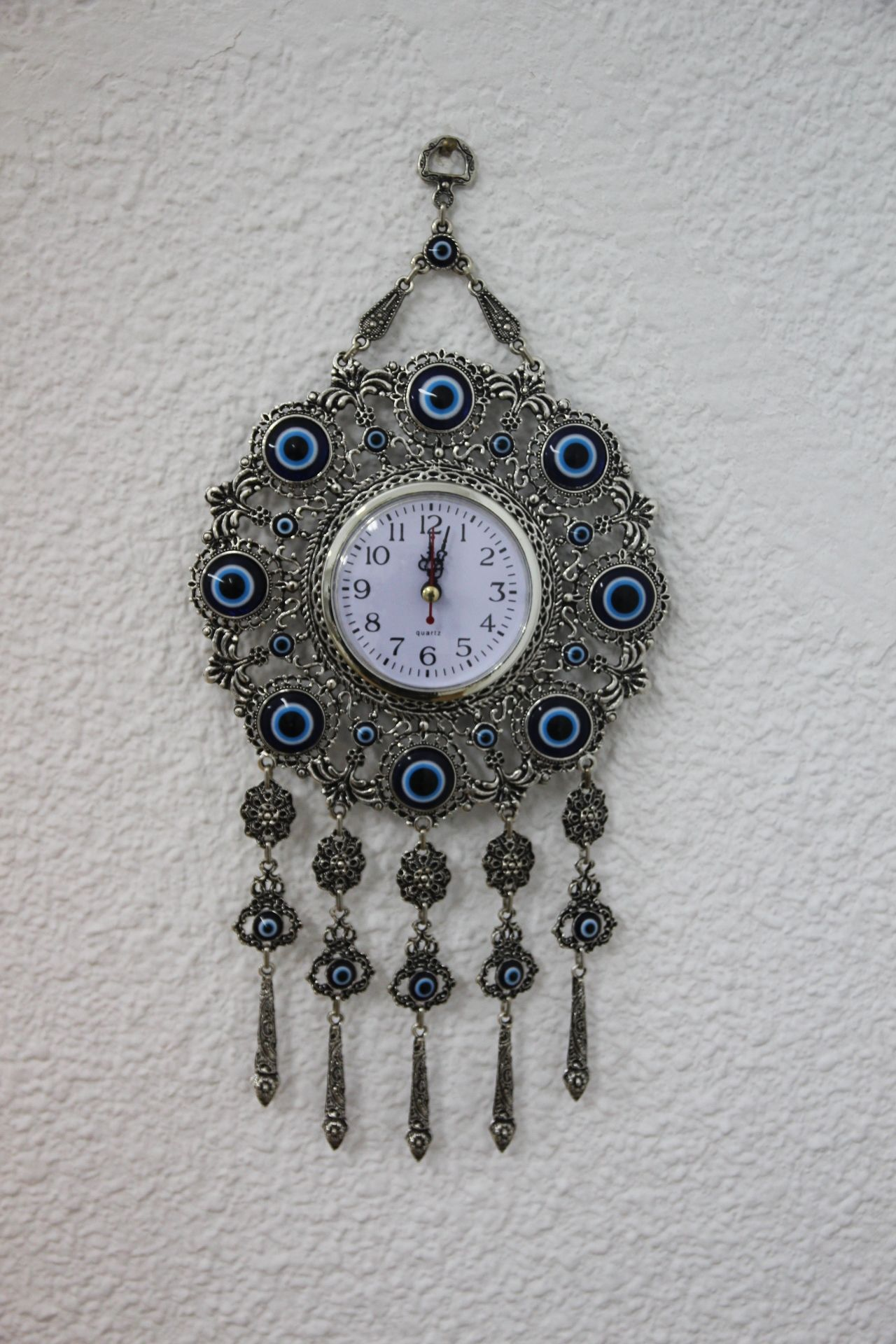 Turkish evil eye wall clock by grandbazaarshopping evil turkish evil eye wall clock by grandbazaarshopping amipublicfo Gallery