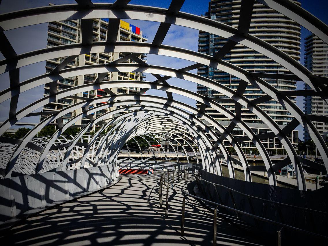 En uno de los puentes de #Melbourne.