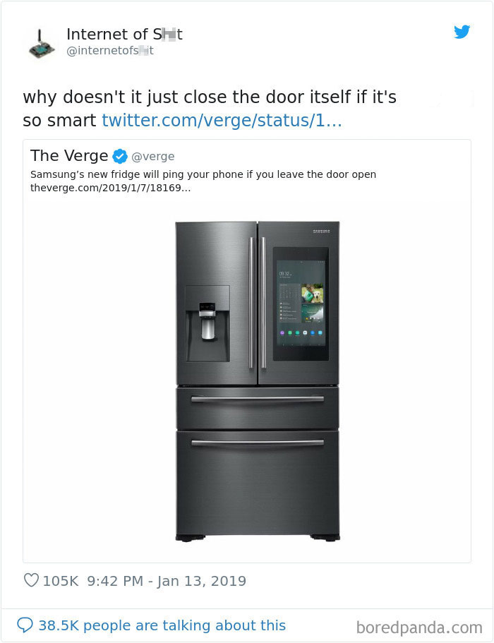 Twitter Account Mocks The Absurdity Of Modern Technology With 30 Hilarious Examples Modern Technology Technology Clean Memes
