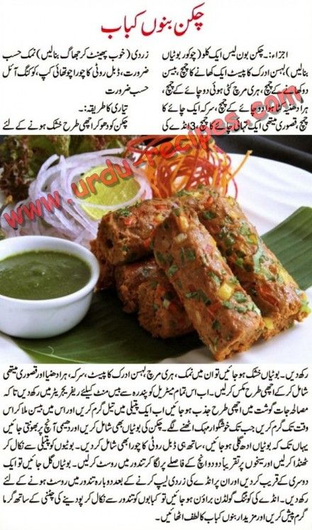 Chicken Banno Kabab Recipe In Urdu Food Recipes Urdu Recipe