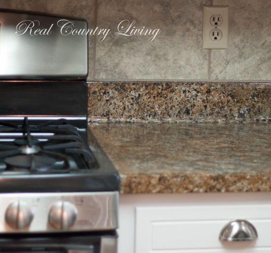 Amazing Painted Countertops Look Like Granite Part 1 Painting