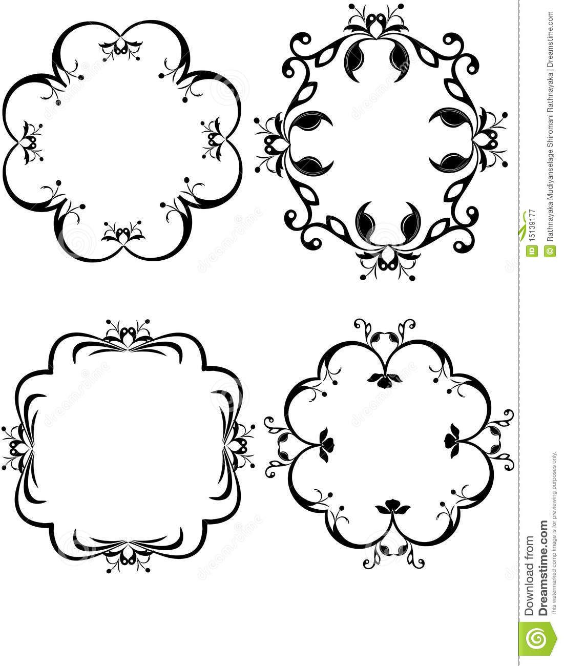 Set Of Decorative Borders - Download From Over 27 Million High Quality Stock Photos, Images, Vectors. Sign up for FREE today. Image: 15139177