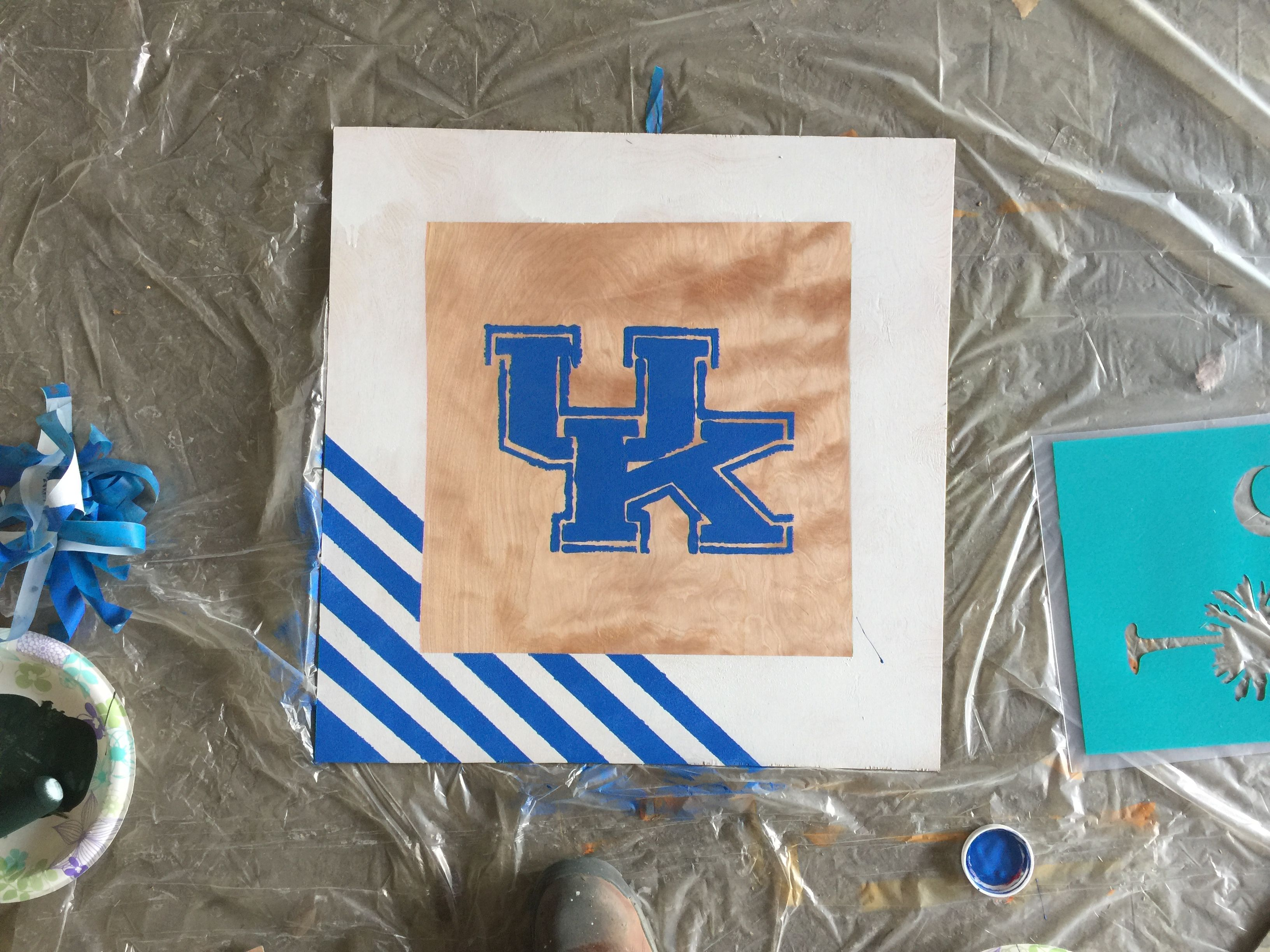 university of kentucky wildcats logo stencil stencil designs
