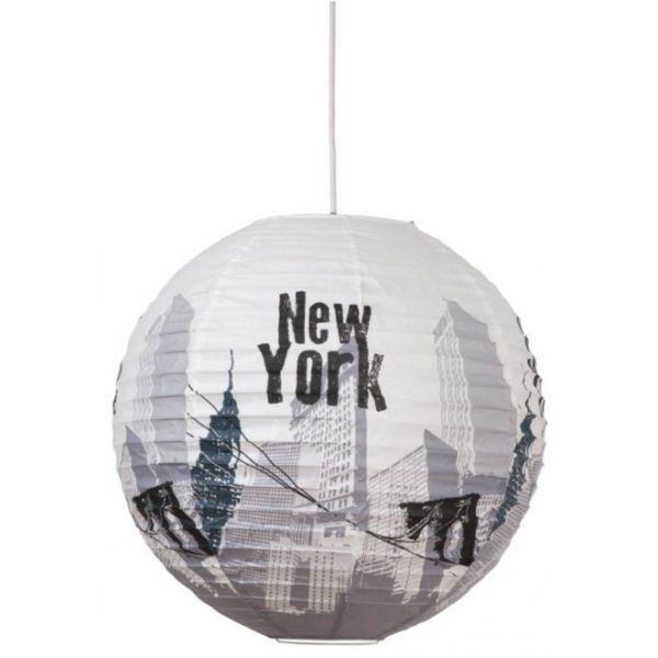 Suspension boule japonaise New York