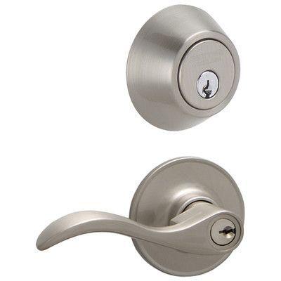 Century Single Cylinder Handleset With Latitude Lever Schlage Locks Seville Front Door Locks