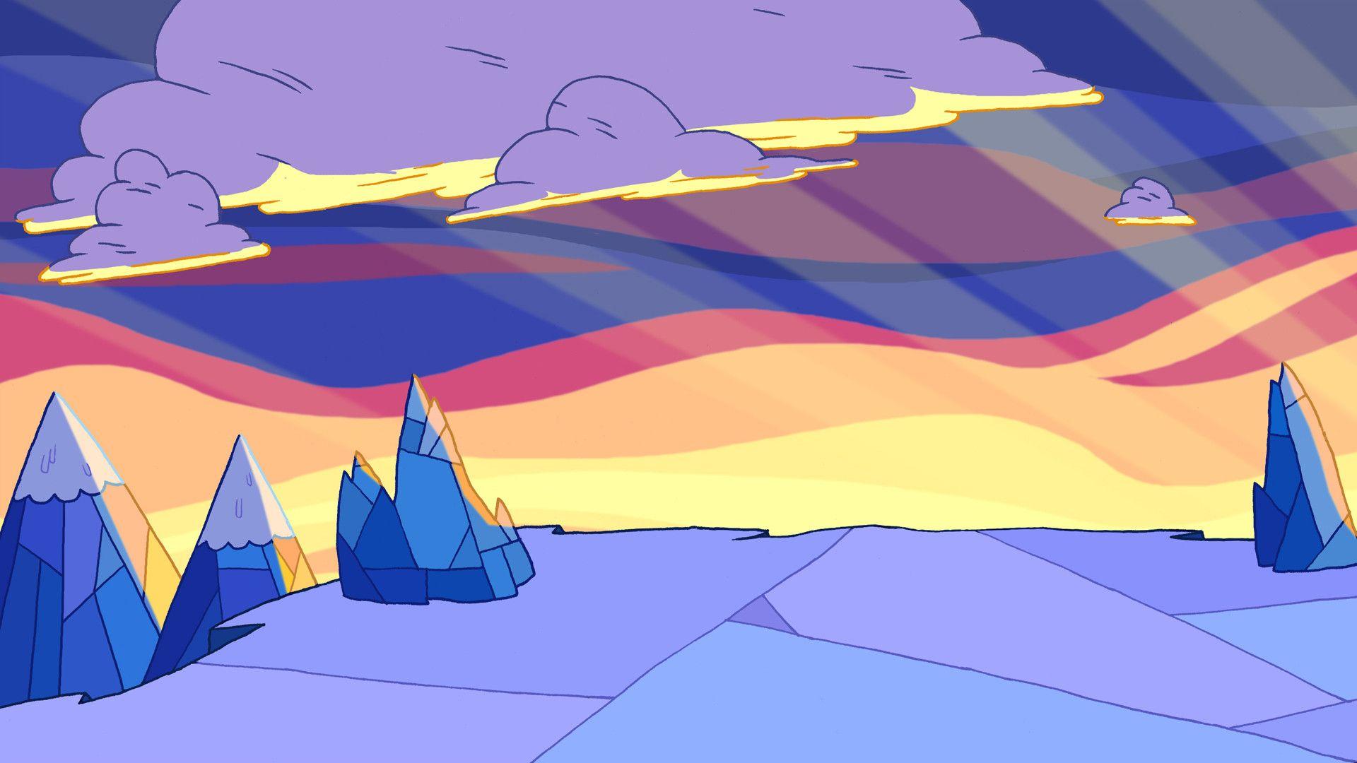 Adventure Time Ice Kingdom Adventure Time Wallpaper Adventure Time Background Adventure Time Ending