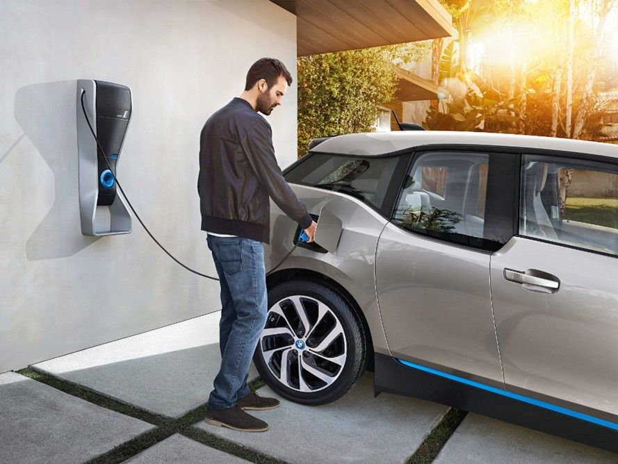 Electric Vehicle Charging Station for Home