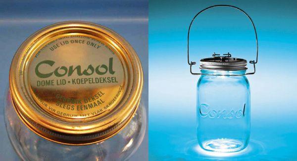 Consol Solar Jar Elle Decoration