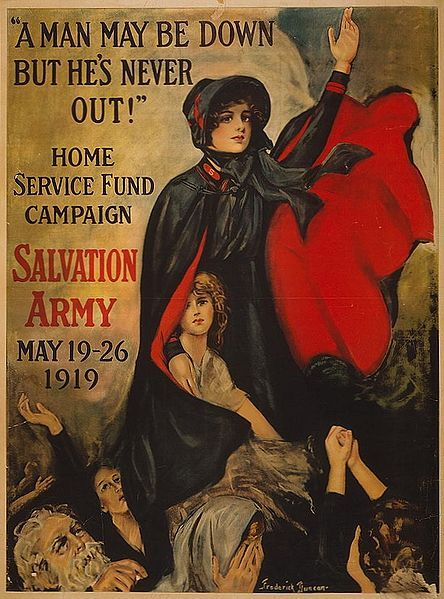 wwi Salvation Army Poster