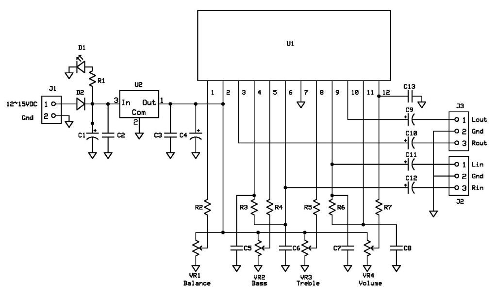 Ka2107 Schematic Diagram Page 001 1 Electronic Engineering Voltage Regulator Circuit