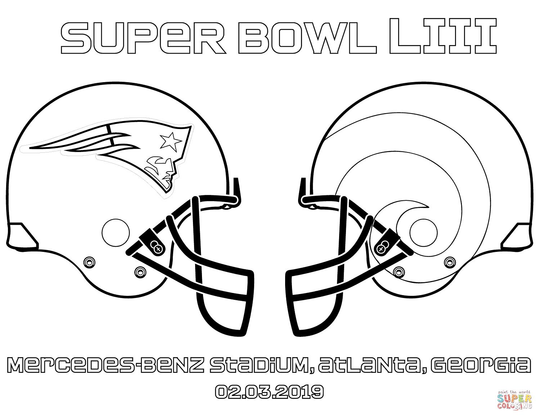 Super Bowl 2019 Coloring Page Free Printable Coloring Pages Football Coloring Pages Printable Coloring Pages Free Printable Coloring Pages