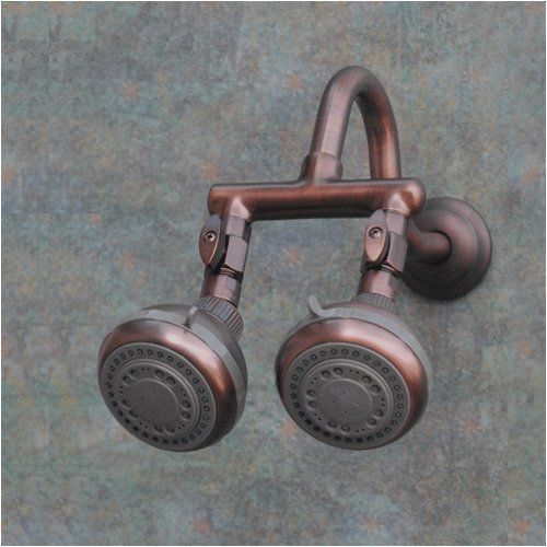 Firstmate 2 Oil Rub Bronze Dual Shower Head Zoe Industries Inc