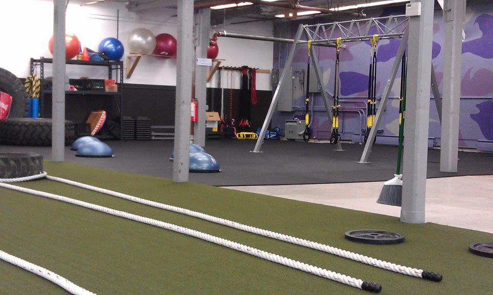 Another Photo Of The Ballston Spa Bootcamp In Ny Which Recently Installed Verde Turf Via Ondecksports Fitness Boutique Ballston Spa Sports Turf