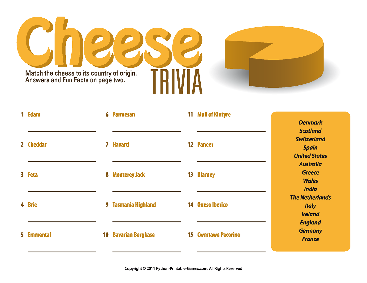 Fast Food Chain Trivia Questions