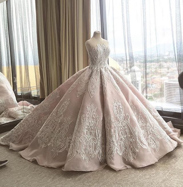 Elaborate Ball Gown Wedding Dresses Like This Can Be Made For You By Our