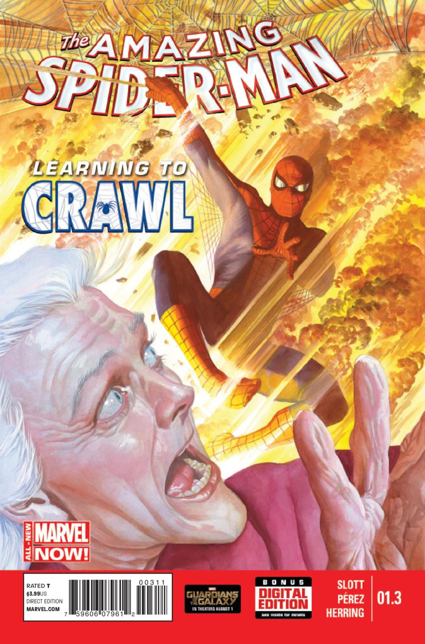 The Amazing Spider-Man #1.3 - Learning to Crawl, Part Three