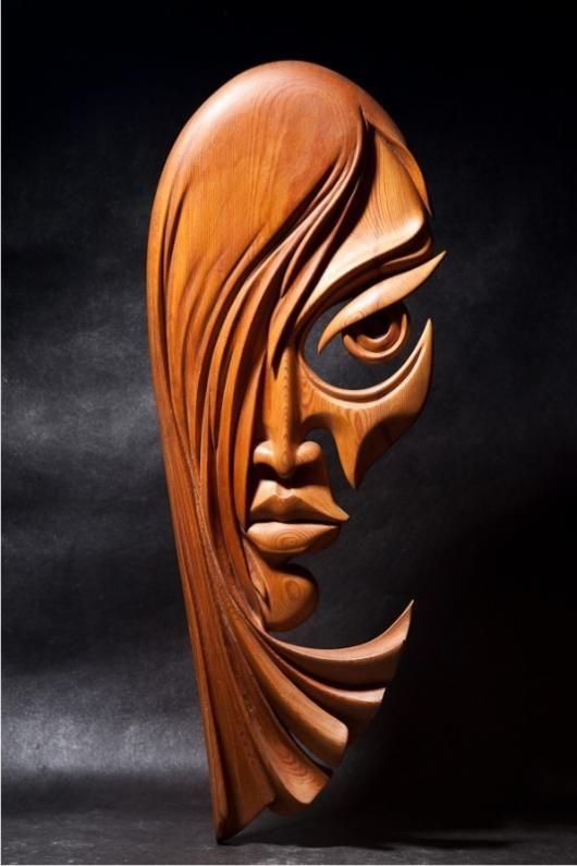 резьба по дереву маски фото жизни амира