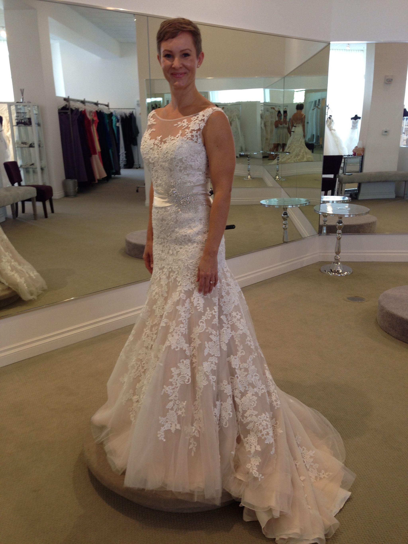 Stefan Jolie Wf14111 1 100 Size 8 New Un Altered Wedding