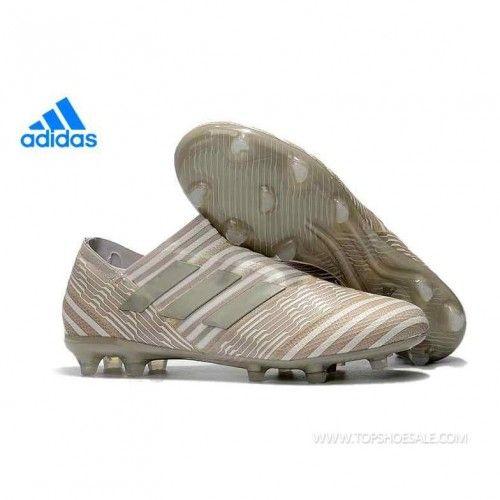 616303f227c7 Regular product adidas Nemeziz Messi 17+ 360 Agility FG S82111 Clear Brown  × Sesame × Chalk White Soccer Shoes