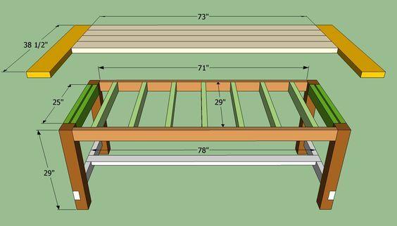 Farmhouse Table Plans To Build How, Farm Style Dining Room Table Plans