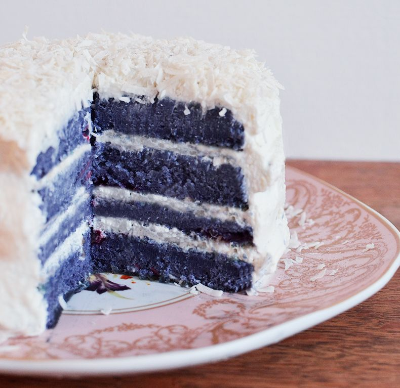Sky High/ layer cake : CoCo Blueberry