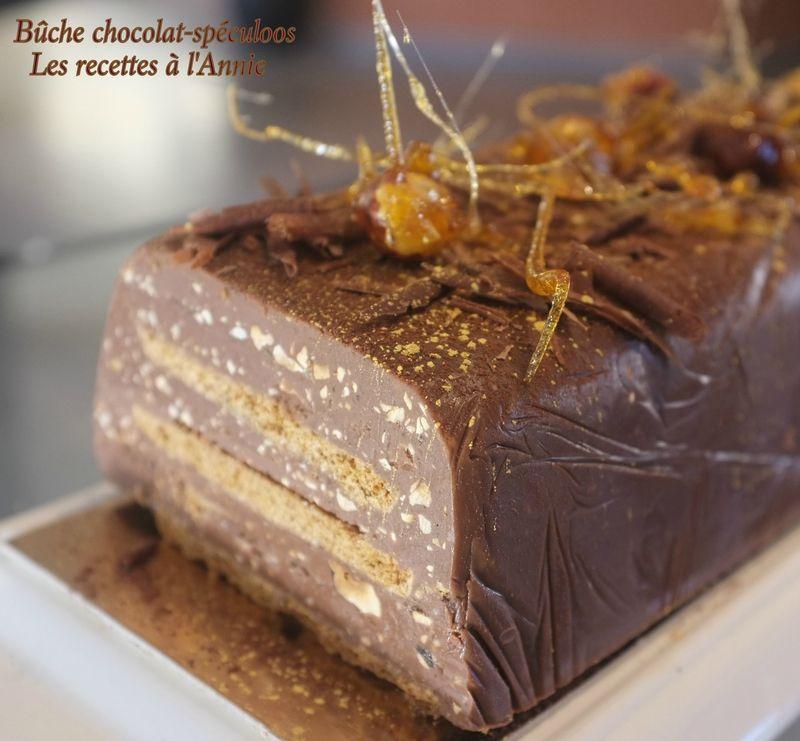 Buche 3 chocolat croustillant facile