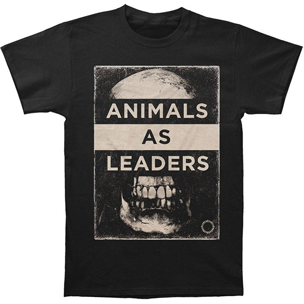 Animals As Leaders Men S Skull T Shirt Black Mens Tshirts Swag Men T Shirt