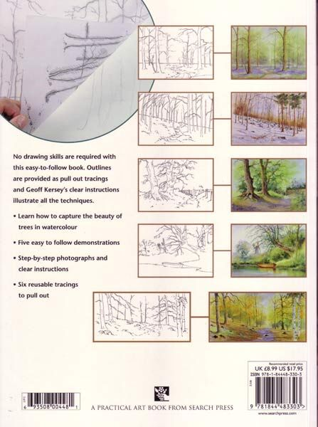 Watercolour Trees And Woodlands Watercolour Journey By Ian