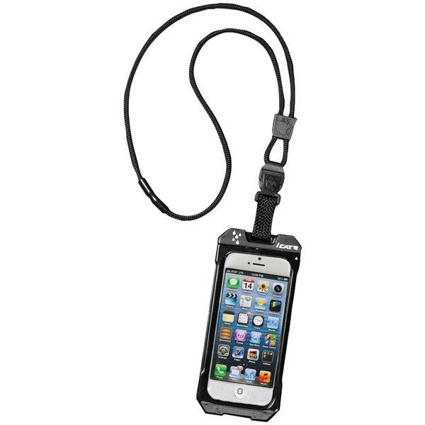 iPhone 4/4S Dri Cat Neck iT Waterproof Case with Lanyard (Black)