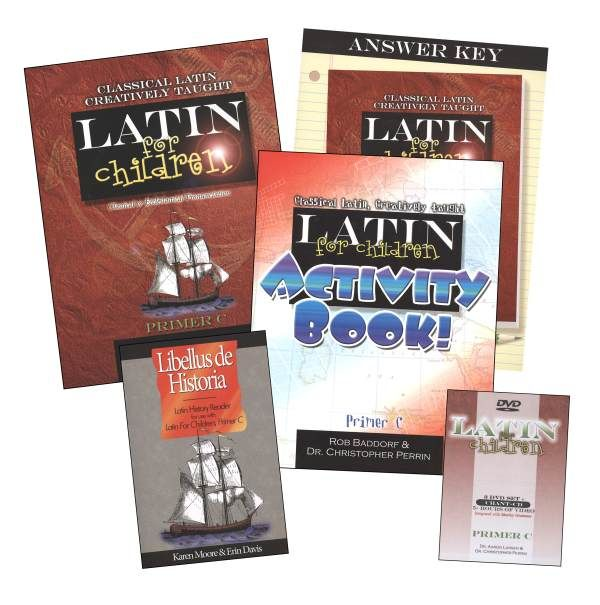 Latin for Children Primer C Mastery Bundle | Main photo (Cover)
