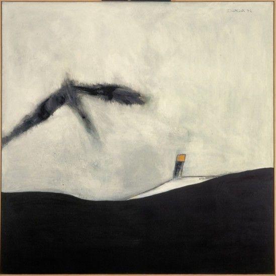 Pat Douthwaite ilustra en 1976 la muerte de la aviadora Amy Johnson