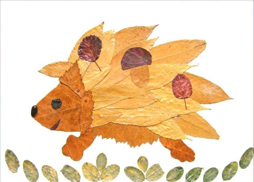 35+ Creative Leaf Animal Art | Leaf animals, Leaf art, Animal art ...
