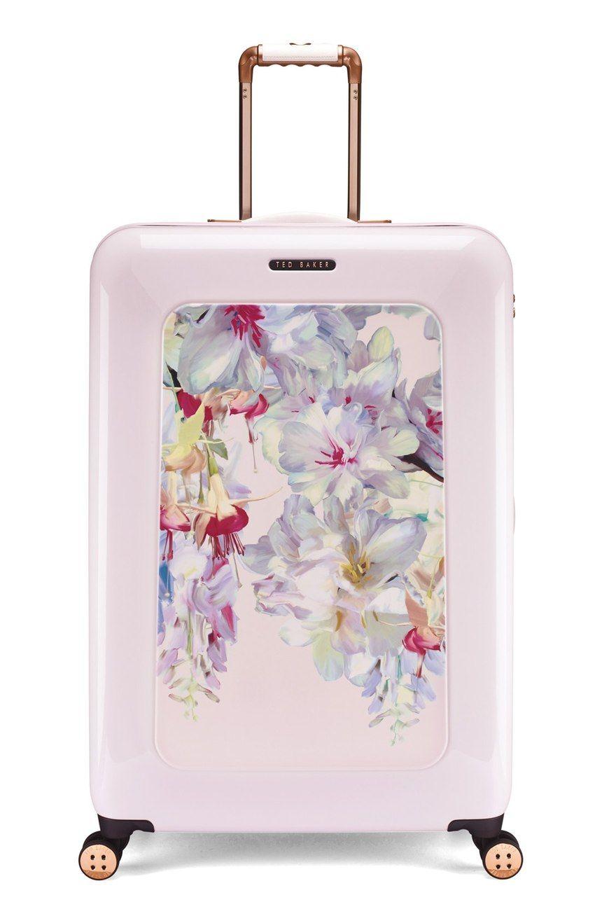 be4846bbd4d3 Travel in style with this lightweight suitcase from Ted Baker. It s  designed with four smooth-rolling 360-degree wheels for easy concourse  navigation.