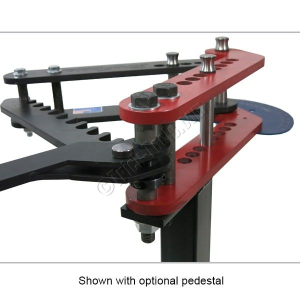 Pro-Tools MB-105HD Heavy Duty Manual Tube Bender, Round Tubing, Pipe