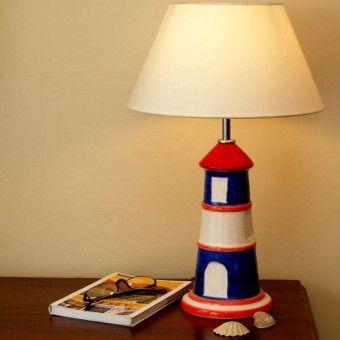 Step Collection Deniz Feneri Abajur