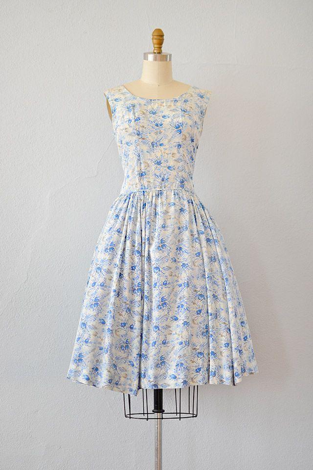 1950s Adored Vintage Vintage Clothing Online Store Silk Floral Dress Vintage Outfits Dresses