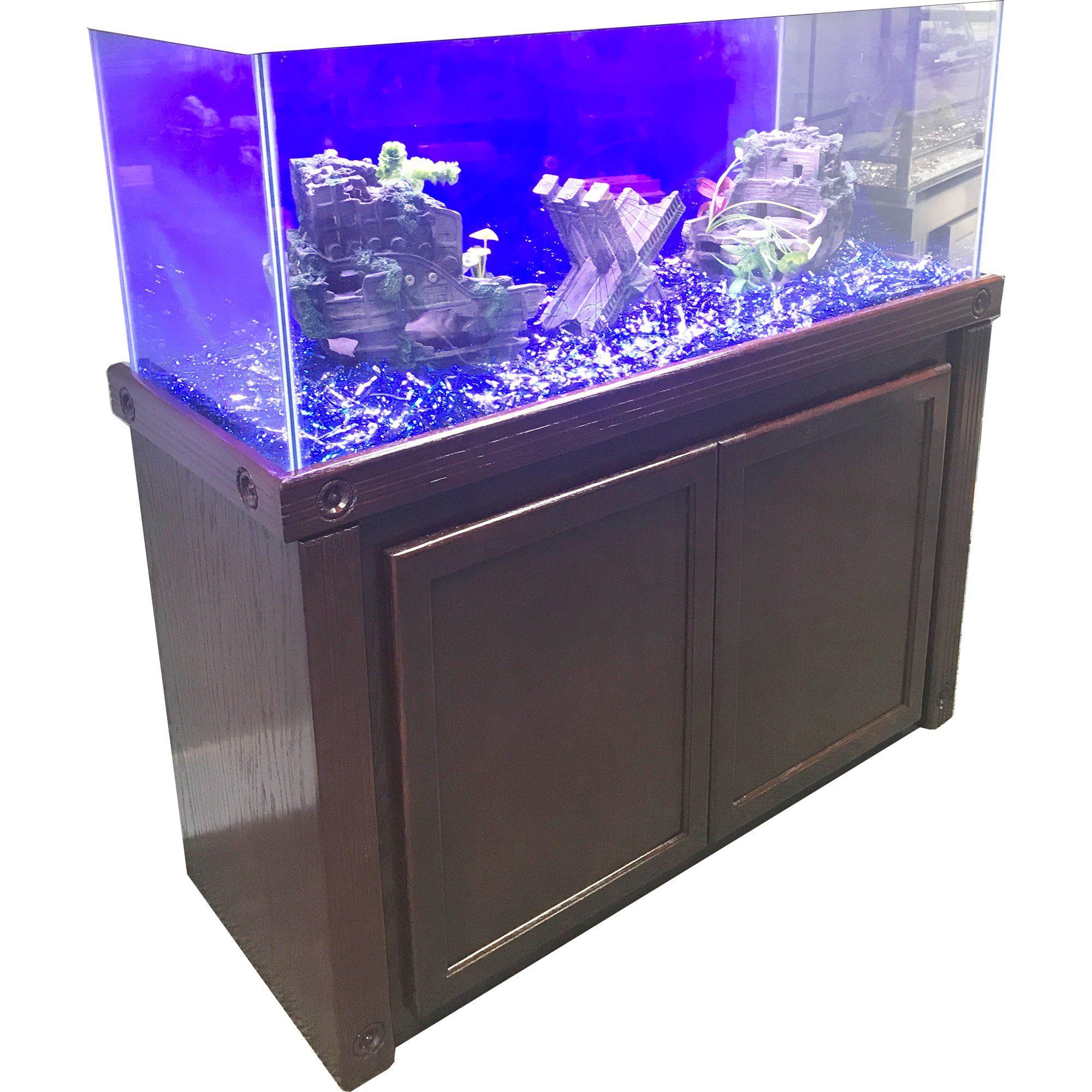 R&J Enterprises 48X18 Cherry Oak Empire Series 75 90 110 Cabinet