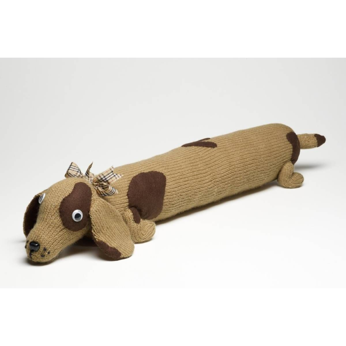 Free Pattern Knit A Dog Draught Excluder   Hobbycraft   crochet toys ...