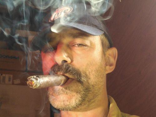 Man Yakuza Cigar Tattoo: Cigars & Leather