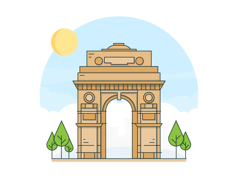 Picture Of India Gate