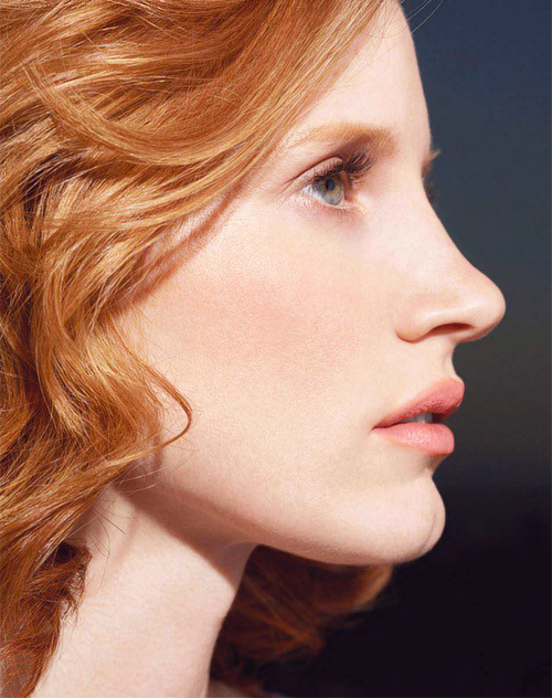 I Have A Very Ruddy Complexion And Have Always Been Jealous Of Women With Porcelain Complexions Jessica Chastain Actress Jessica Red Hair