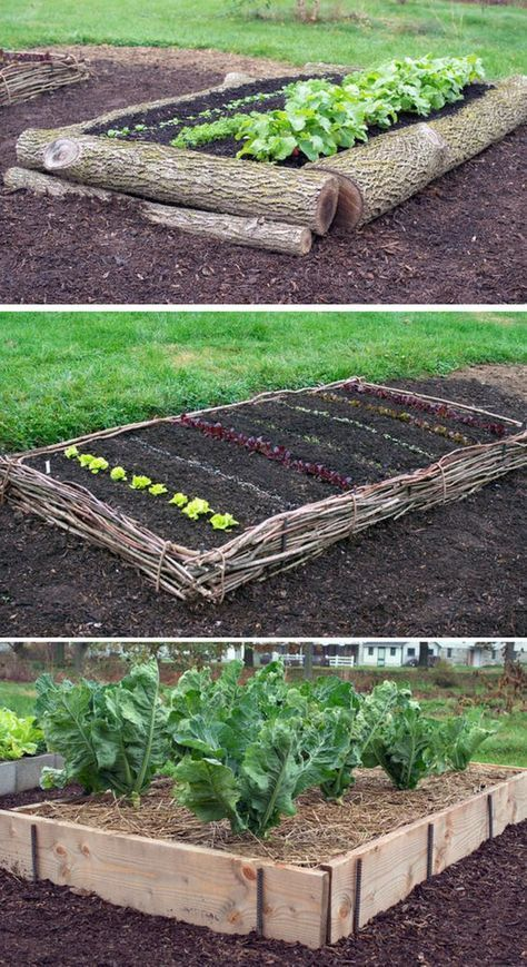Awesome Raised Garden Bed Ideas & Tutorials