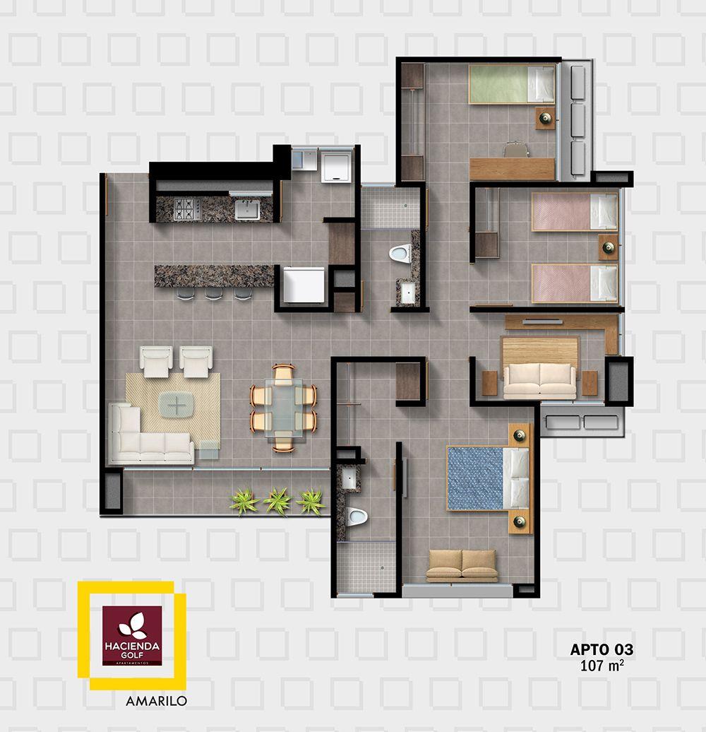 Amarilo constructora de espacios de vivienda nuevos for Viviendas pequenas planos
