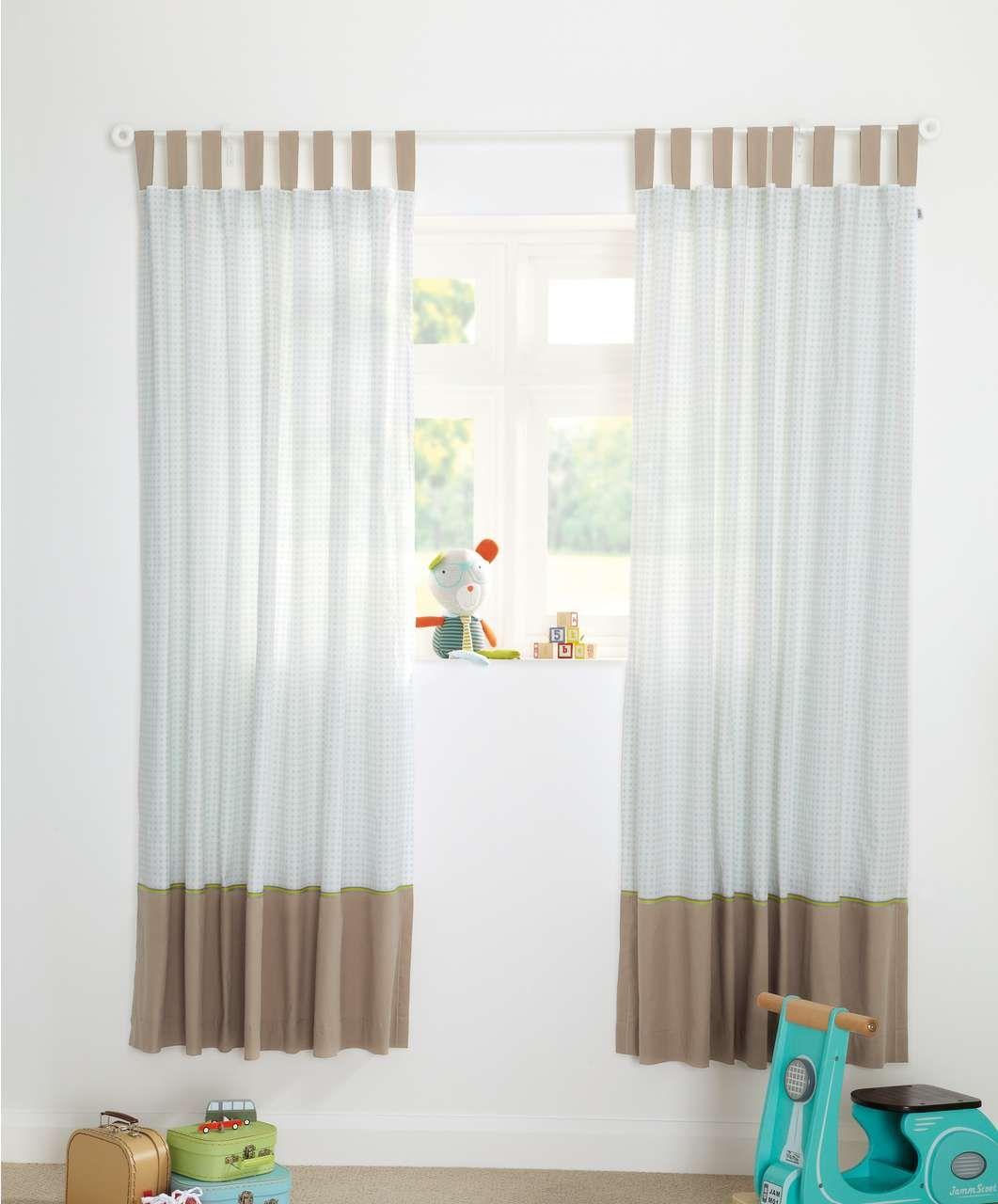 Pixie & Finch - Boys Curtains (132 x 160cm) - Curtains & Tie Backs - Mamas & Papas