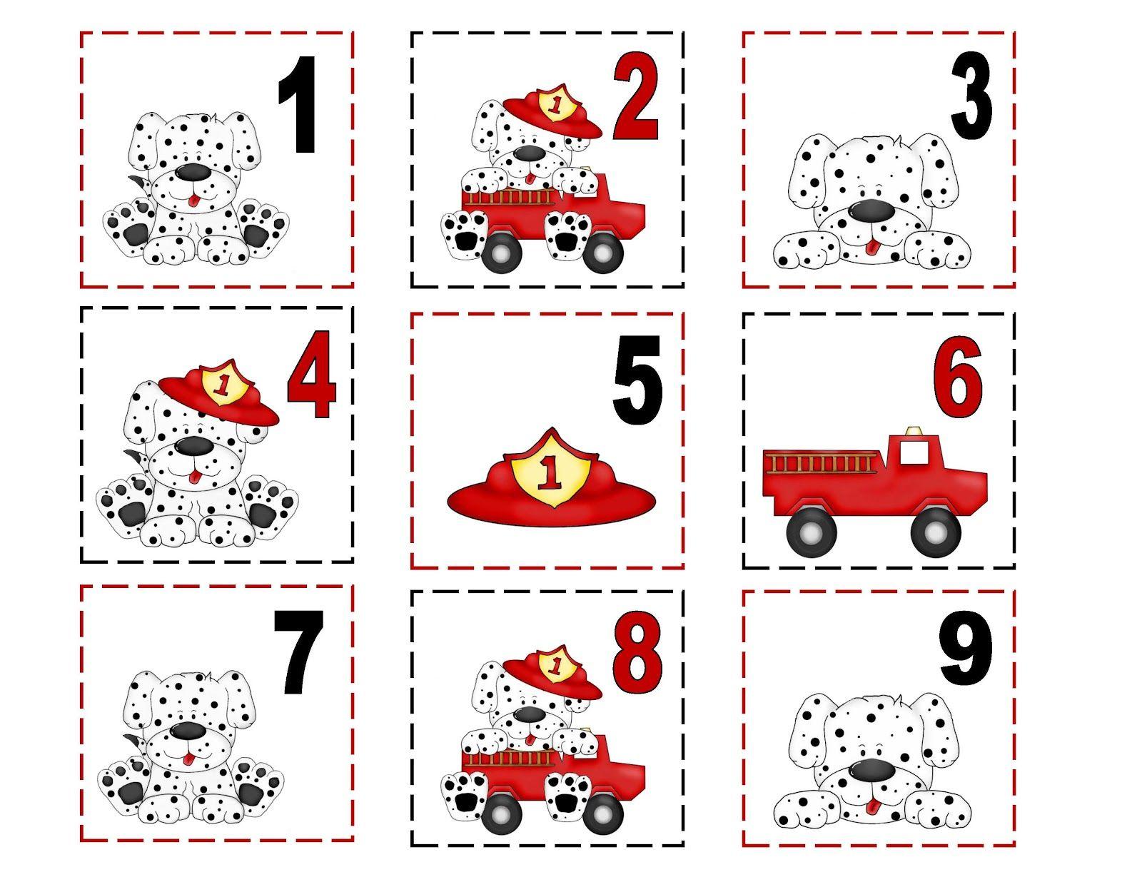 Preschool Printables Fire Dog Ideas For Fire Saftey Month
