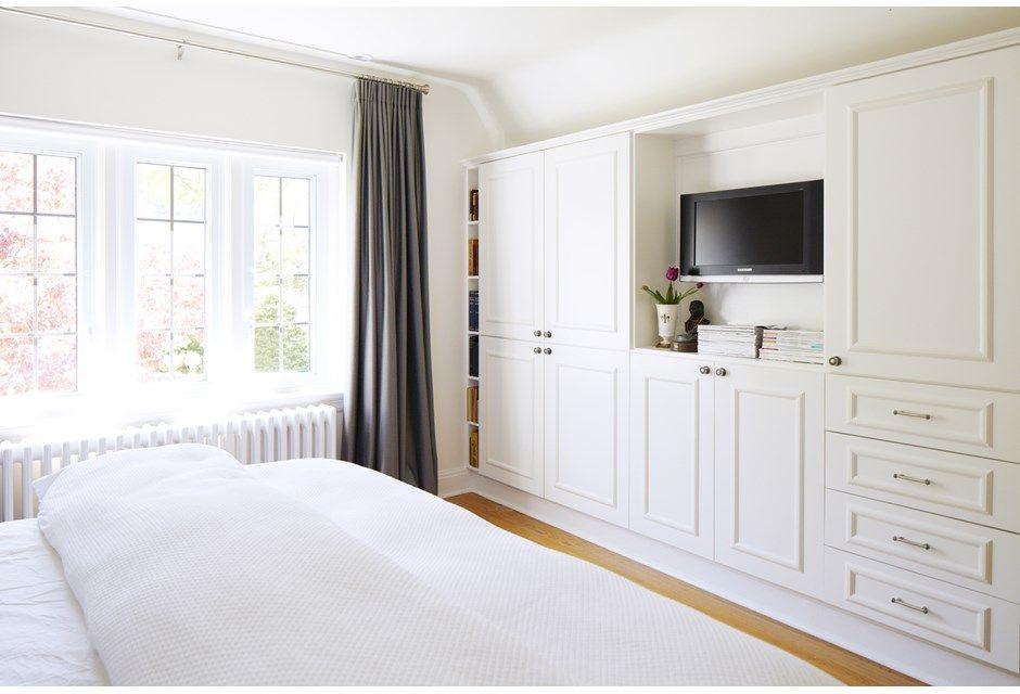 All Shows | Bedroom built ins, Small master bedroom, Master ...