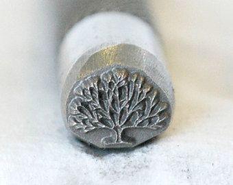 Popular Items For Metal Design Stamp On Etsy Metal Stamping Design Design Stamps Tree Of Life Jewelry
