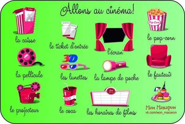 Allons Au Cinema Teaching French Learn French How To Speak French
